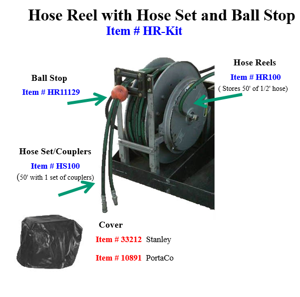 Hose Reel Kit